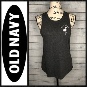 Old navy active muscle tank sz M